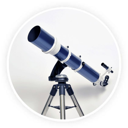 types monture telescope